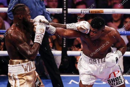 Editorial picture of Deontay Wilder vs Luis Ortiz II, Las Vegas, USA - 23 Nov 2019
