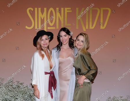 Editorial picture of Simone Kidd Launch Party, Los Angeles, USA - 23 Nov 2019