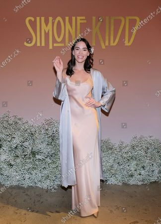 Editorial image of Simone Kidd Launch Party, Los Angeles, USA - 23 Nov 2019
