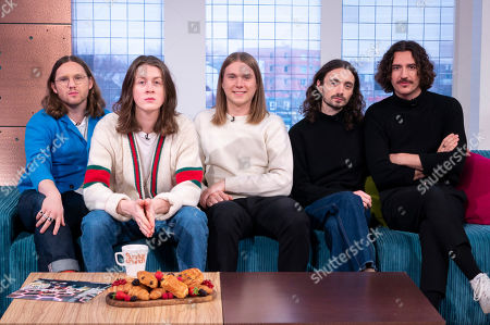 Blossoms - Joe Donovan, Tom Ogden, Myles Kellock, Josh Dewhurst and Charlie Salt