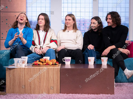 Stock Image of Blossoms - Joe Donovan, Tom Ogden, Myles Kellock, Josh Dewhurst and Charlie Salt