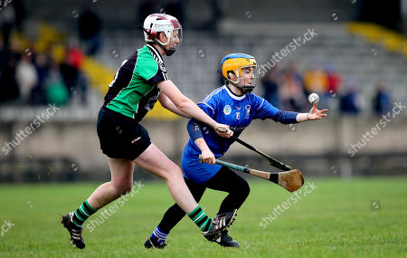 Editorial picture of AIB All-Ireland Junior Camogie Club Championship Final, MacDonagh Park, Nenagh, Co. Tipperary  - 24 Nov 2019