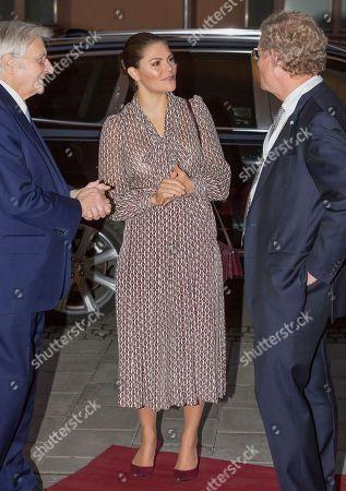 Crown Princess Victoria, Jean-Claude Trichet and Jacob Wallenberg