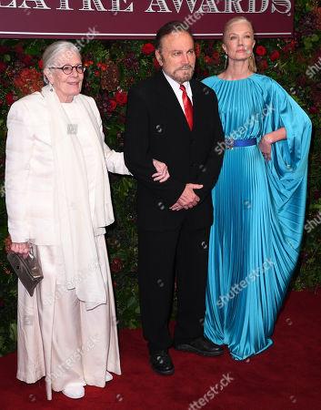 Vanessa Redgrave, Franco Nero and Joely Richardson
