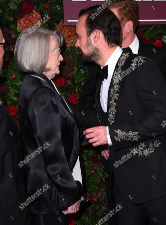 Maggie Smith and Evgeny Lebedev