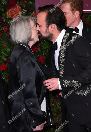 Stock Image of Maggie Smith and Evgeny Lebedev