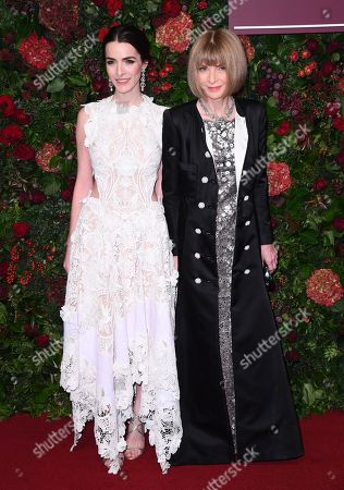 Stock Picture of Bee Shaffer and Anna Wintour