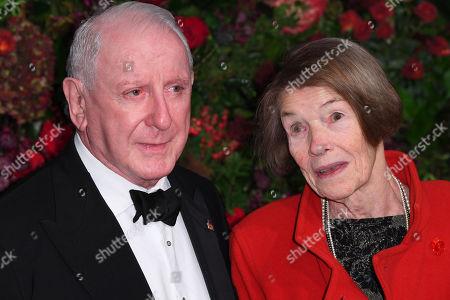 Lionel Larner and Glenda Jackson