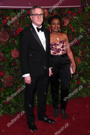 Stock Picture of David Ignatius and Natasha Gordon