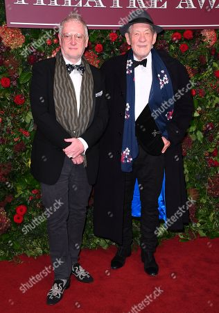 Stock Picture of Sean Mathias and Sir Ian McKellen