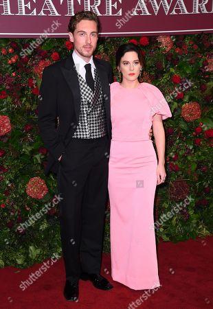 Phoebe Fox and Rory Fleck-Byrne