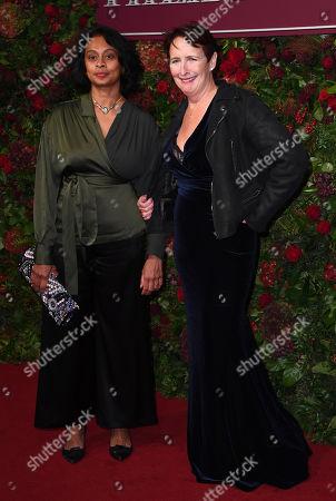 Sonali Deraniyagala and Fiona Shaw