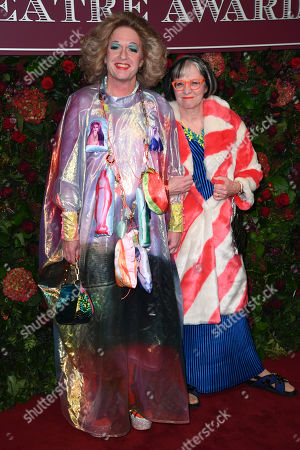 Stock Picture of Grayson Perry and Philippa Perry