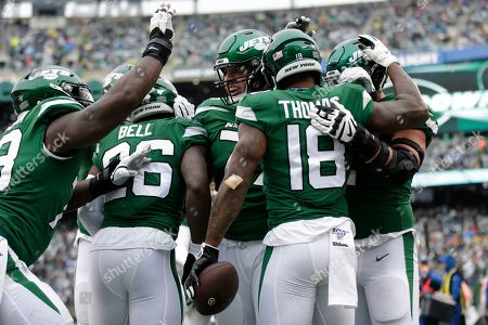 Editorial picture of Raiders Jets Football, East Rutherford, USA - 24 Nov 2019