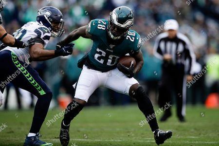 Editorial picture of Seahawks Eagles Football, Philadelphia, USA - 24 Nov 2019