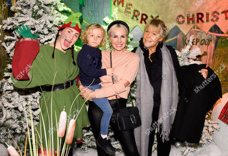 Rocco Isted, Noami Isted and Linda Robson