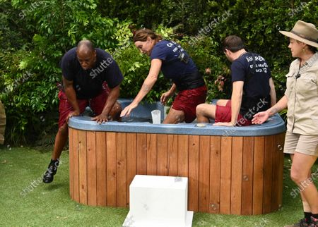 Bushtucker Trial, Jungle Love Island - Ian Wright, Caitlyn Jenner and Andrew Maxwell