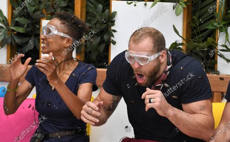Bushtucker Trial, Jungle Love Island - Adele Roberts and James Haskell
