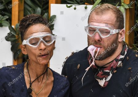Live Bushtucker Trial, Jungle Love Island - Adele Roberts and James Haskell