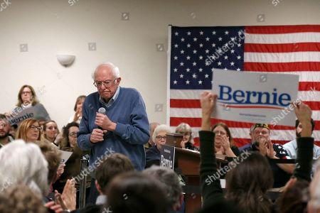 Editorial photo of Election 2020 Bernie Sanders, Hillsboro, USA - 24 Nov 2019