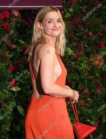 Anne-Marie Duff arrives to attend the 65th Evening Standard Theatre Awards in central London, Britain, 24 November 2019.