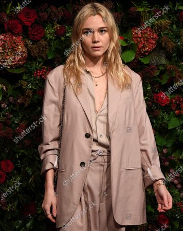 Immy Waterhouse arrives to attend the 65th Evening Standard Theatre Awards in central London, Britain, 24 November 2019.