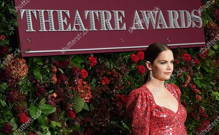 English actress Ruth Wilson arrives to attend the 65th Evening Standard Theatre Awards in central London, Britain, 24 November 2019.