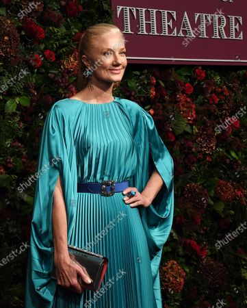 Joely Richardson arrives to attend the 65th Evening Standard Theatre Awards in central London, Britain, 24 November 2019.