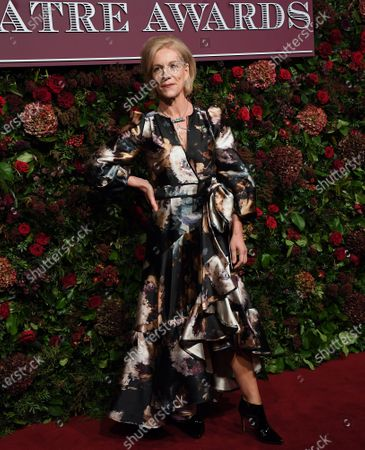 Juliet Stevenson arrives to attend the 65th Evening Standard Theatre Awards in central London, Britain, 24 November 2019.