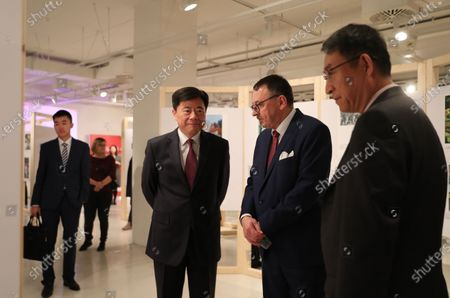 Editorial picture of Photo exhibition on 70th People's Republic of China, Berlin, Germany - 24 Nov 2019