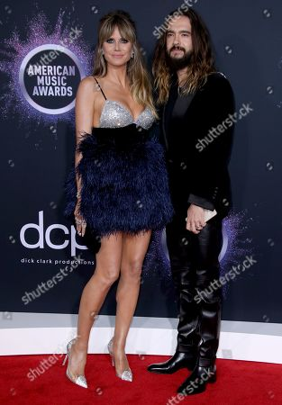Stock Picture of Heidi Klum and Tom Kaulitz
