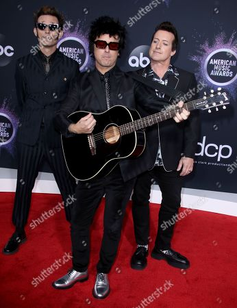 Green Day - Mike Dirnt, Billie Joe Armstrong and Tre Cool