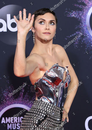 Editorial photo of 47th Annual American Music Awards, Arrivals, Microsoft Theater, Los Angeles, USA - 24 Nov 2019