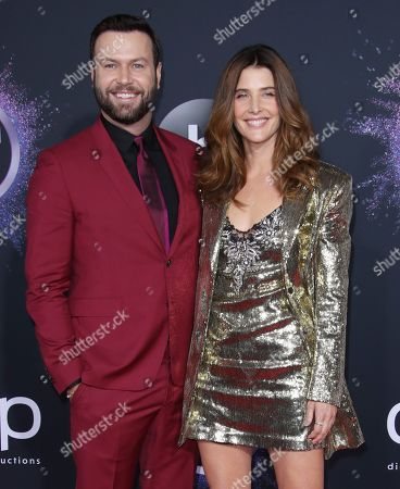 Taran Killam and Cobie Smulders
