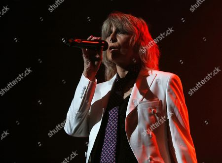 Stock Photo of Chrissie Hynde in concert