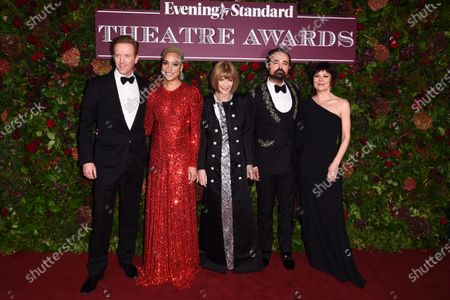 Editorial photo of 65th Evening Standard Theatre Awards, The London Coliseum, UK - 24 Nov 2019