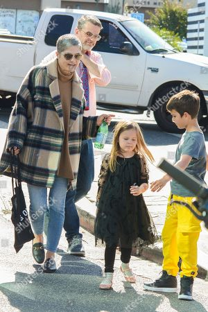Selma Blair and Arthur Saint at Farmers Market
