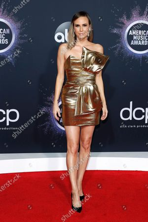 Canadian media personality Keltie Knight arrives for the 2019 American Music Awards at MMicrosoft Theater L.A. LIVE in Los Angeles, California, USA, 24 November 2019.