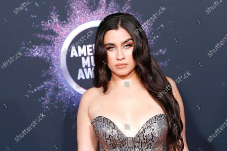 Lauren Jauregui arrives for the 2019 American Music Awards at MMicrosoft Theater L.A. LIVE in Los Angeles, California, USA, 24 November 2019.