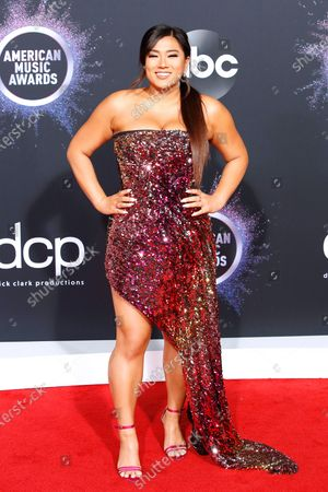 Remi Cruz arrives for the 2019 American Music Awards at MMicrosoft Theater L.A. LIVE in Los Angeles, California, USA, 24 November 2019.