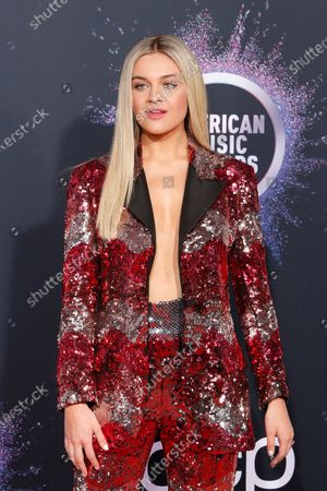 Editorial picture of Arrivals - 2019 American Music Awards, Los Angeles, USA - 24 Nov 2019