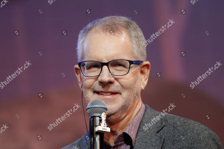 """Director Chris Buck, speaks during a press conference for his new movie """"Frozen 2"""" in Seoul, South Korea"""