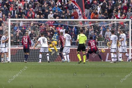 Blerim Dzemaili (Bologna) he scored the second goal for his team