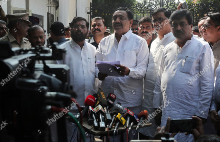 Editorial photo of Politics, Mumbai, India - 25 Nov 2019