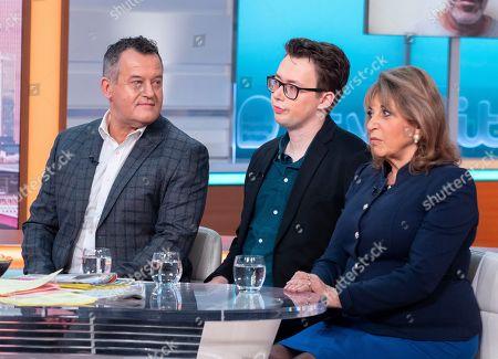 Paul Burrell, Tom Slater and Eve Pollard