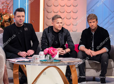 Westlife - Mark Feehily, Nicky Byrne and Kian Egan