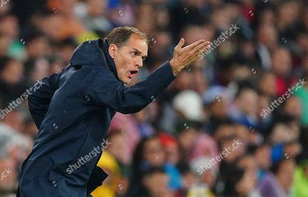 Paris Saint-Germain manager Thomas Tuchel