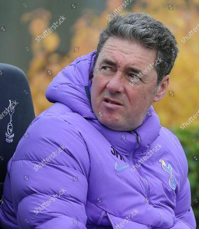 Stock Image of John McDermott Coach of Tottenham Hotspur