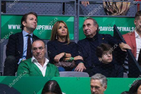 Editorial picture of Davis Cup Finals by Rakuten, Day 7, Tennis, La Caja Magica, Madrid, Spain - 24 Nov 2019