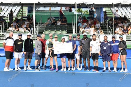 Editorial image of 30th annual Chris Evert Pro-Celebrity Tennis Classic, Del Ray, USA - 24 Nov 2019